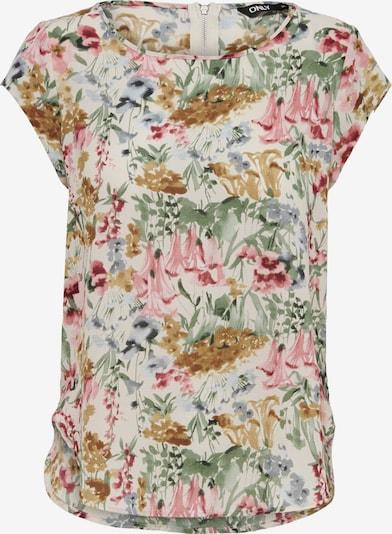 ONLY Bluza 'ONLVIC' | kremna / svetlo modra / oker / zelena / roza barva, Prikaz izdelka