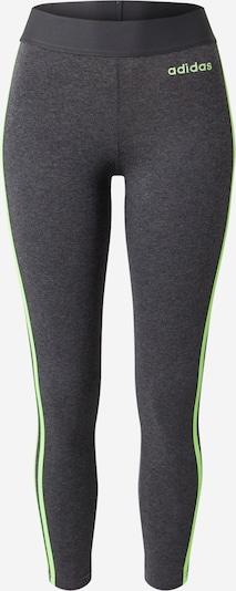ADIDAS PERFORMANCE Sportbroek in de kleur Donkergrijs / Neongroen, Productweergave