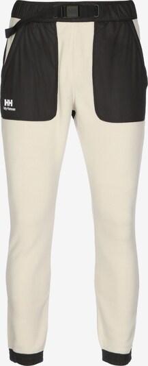 HELLY HANSEN Trainingshose ' Yu Fleece ' in schwarz / weiß, Produktansicht