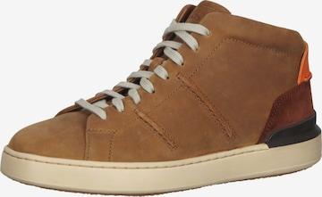 CLARKS Sneaker in Braun