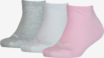 PUMA Chaussettes en gris / rose / blanc, Vue avec produit