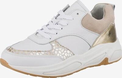 JOLANA & FENENA Sneaker in beige / gold / weiß, Produktansicht