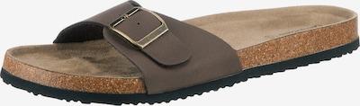 ambellis Pantolette in braun, Produktansicht