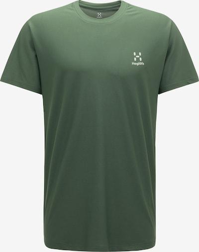Haglöfs Functioneel shirt 'L.I.M Tech' in de kleur Kaki / Wit, Productweergave