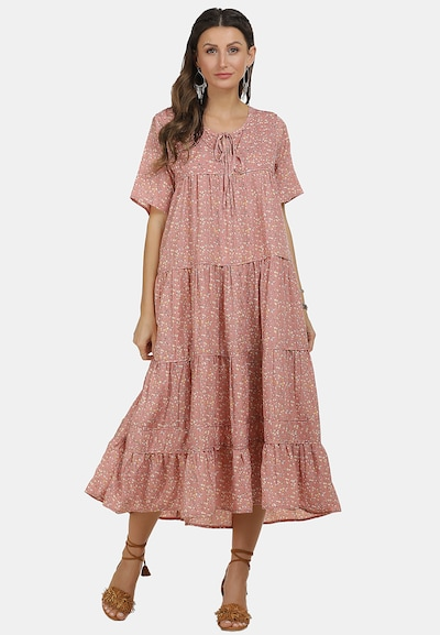 usha FESTIVAL Sommerkleid in mischfarben / pink, Modelansicht