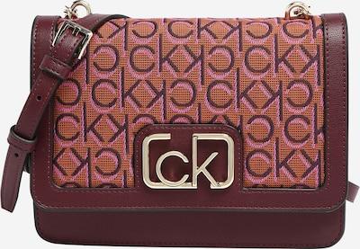 Calvin Klein Umhängetasche in orange / pink / bordeaux, Produktansicht