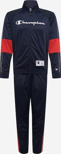 Champion Authentic Athletic Apparel Sport-Anzug in navy / rot / weiß, Produktansicht