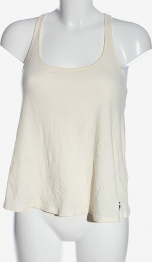 Abercrombie & Fitch Spaghettiträger Top in M in creme, Produktansicht
