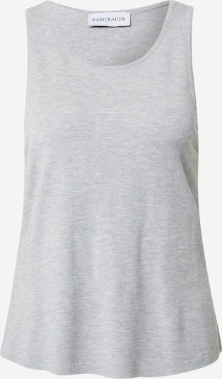 Karo Kauer Top 'BONNIE' en gris, Vista del producto