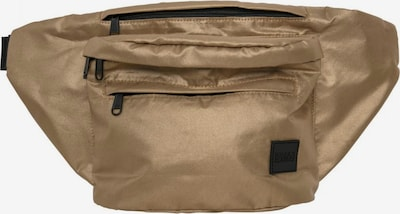 Urban Classics Heuptas ' Oversize Shoulderbag ' in de kleur Goud: Vooraanzicht