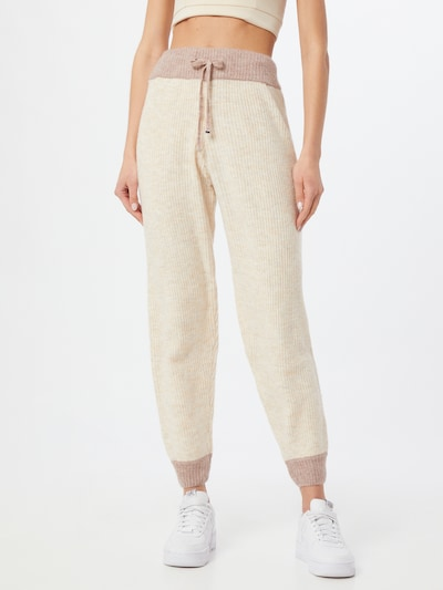Missguided Hose in taupe / greige, Modelansicht