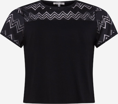 ABOUT YOU Curvy Shirt 'Perle' in de kleur Zwart, Productweergave