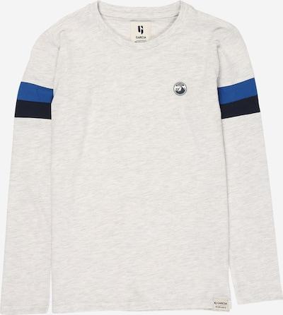 GARCIA Shirt in blau / schwarz / weiß, Produktansicht