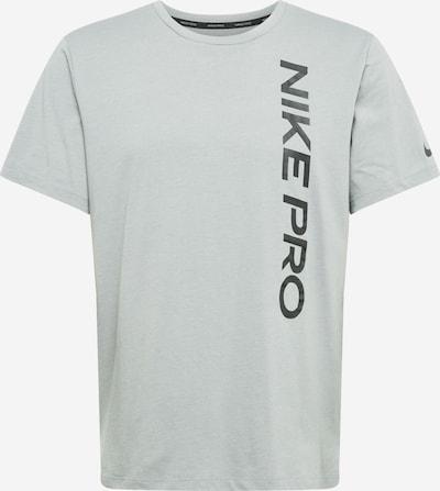NIKE Funkčné tričko - sivá / čierna, Produkt