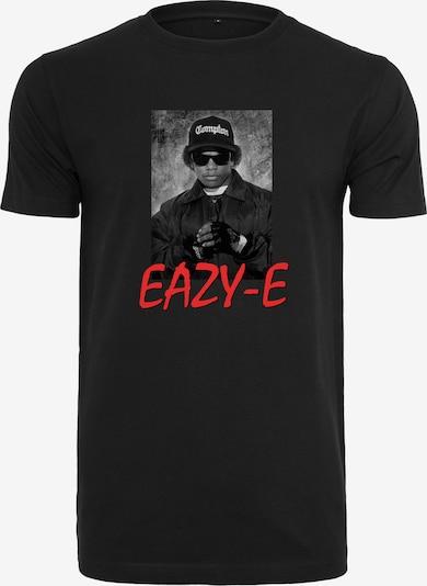 Mister Tee Shirt 'Eazy E' in de kleur Grijs / Rood / Zwart / Wit, Productweergave