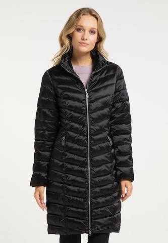 DreiMaster Klassik Between-Seasons Coat in Black