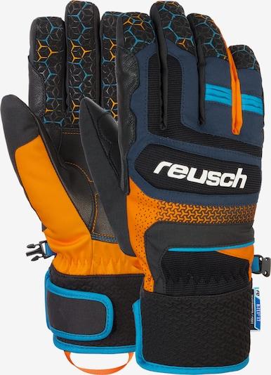 REUSCH Fingerhandschuhe 'Stuart R-TEX® XT' in blau / orange, Produktansicht