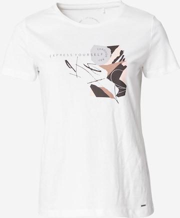 TAIFUN T-Shirt in Weiß