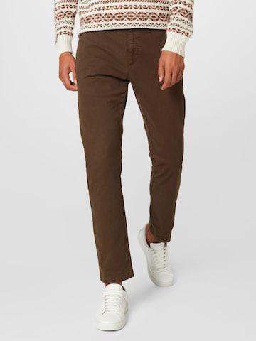 HUGO Chino-püksid 'David', värv pruun