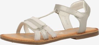 KICKERS Sandales en blanc, Vue avec produit