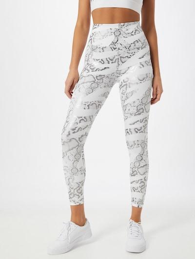 PUMA Sporthose in silber / weiß, Modelansicht