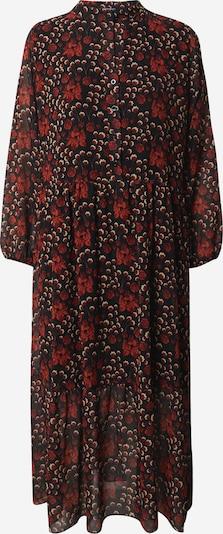 ZABAIONE Jurk 'Nina' in de kleur Bruin / Zwart / Wit, Productweergave