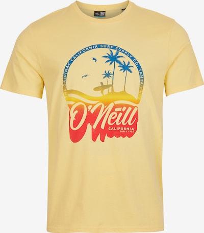 O'NEILL Camiseta en azul / dorado / granadina, Vista del producto