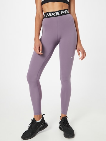 Pantalon de sport NIKE en violet
