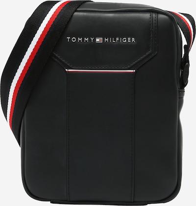TOMMY HILFIGER Taška cez rameno - námornícka modrá / červená / čierna / biela, Produkt