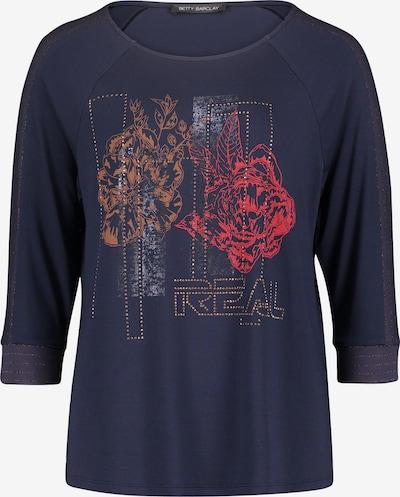 Betty Barclay Shirt in chamois / navy / rot, Produktansicht