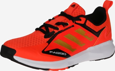ADIDAS PERFORMANCE Sportschuh 'Fai2Go' in gold / rot / schwarz, Produktansicht
