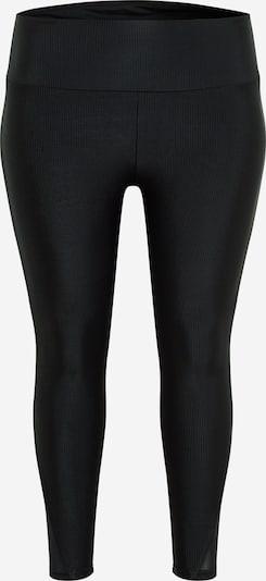 Urban Classics Curvy Leggings in de kleur Zwart, Productweergave