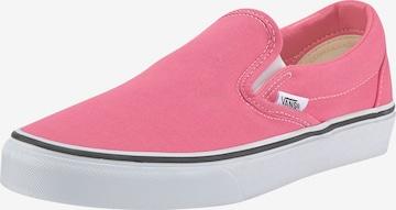 VANS - Zapatillas sin cordones 'UA Classic Slip-On' en rosa