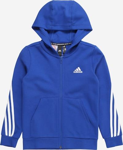 Sportinis džemperis iš ADIDAS PERFORMANCE , spalva - mėlyna / balta, Prekių apžvalga