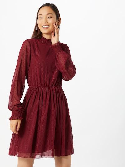 Freebird Kleid in bordeaux / schwarz, Modelansicht