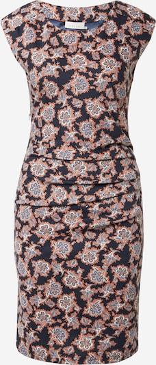 Kaffe Kleid 'Stinna' in nachtblau / orange / weiß, Produktansicht