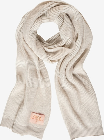 CECIL Scarf in Beige