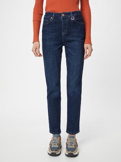 PULZ Jeans Jeans in blue denim, Modelansicht