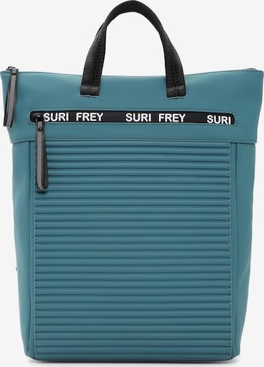 Suri Frey Sac à dos en pétrole / noir, Vue avec produit