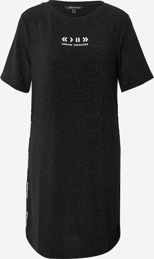 ARMANI EXCHANGE Kleid in schwarz / weiß, Produktansicht