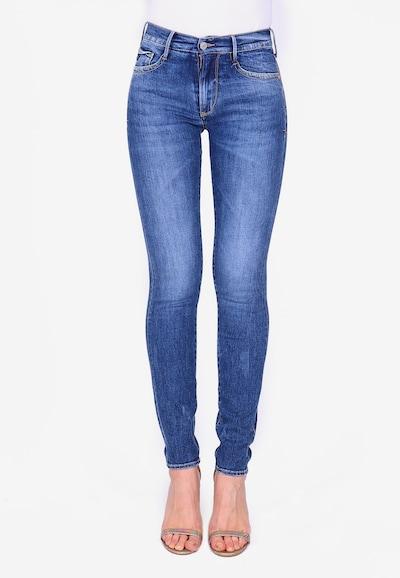 Le Temps Des Cerises Jeans 'POWERHI' in blau, Modelansicht