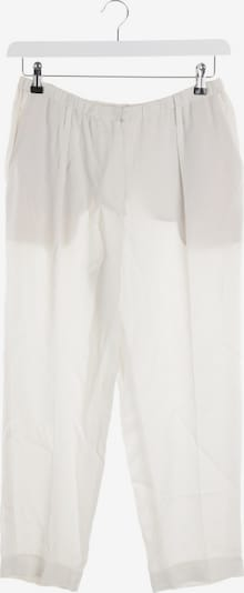 Brunello Cucinelli Hose in XS in elfenbein, Produktansicht