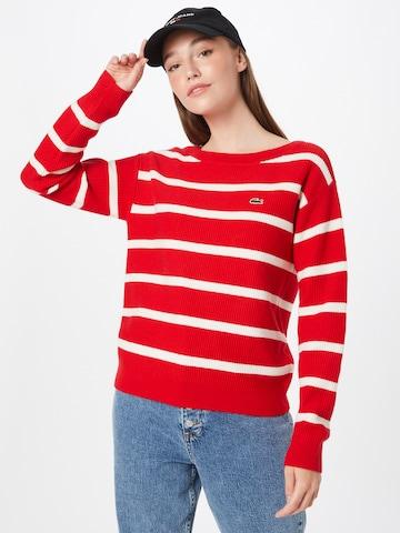 sarkans LACOSTE Džemperis