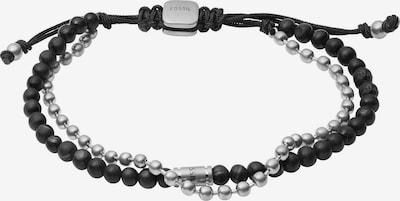 FOSSIL Bracelet en noir / argent, Vue avec produit