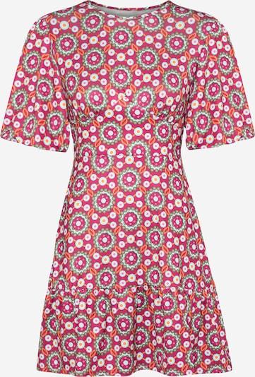 Rochie Trendyol pe kaki / portocaliu / roz / alb, Vizualizare produs