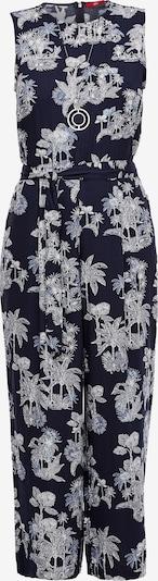 s.Oliver Jumpsuit i mörkblå / vit, Produktvy