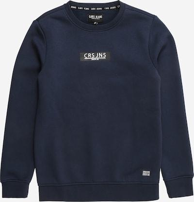 Cars Jeans Sweatshirt 'HEMSER' in de kleur Navy / Wit, Productweergave