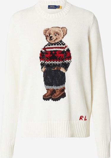 Polo Ralph Lauren Sweater in Mixed colors / White, Item view