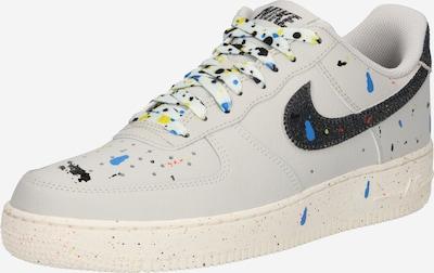 Nike Sportswear Baskets basses 'AIR FORCE' en beige / mélange de couleurs, Vue avec produit