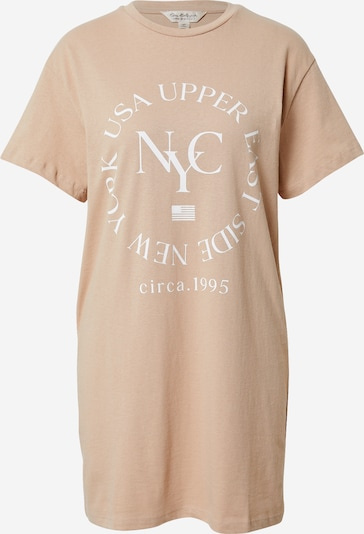 Miss Selfridge Shirt 'New York' in de kleur Nude, Productweergave